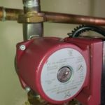 Hot Water Recirculating Pump Installation